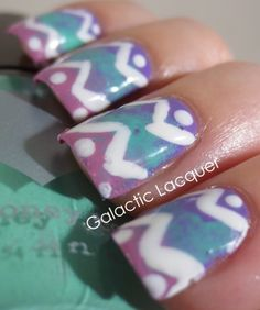 Galactic Lacquer: Easter 2014 Nail Art
