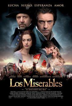 Los Miserables. Vellos de punta desde el minuto 1. Un reparto espléndido y gratas sorpresas por las voces de actores como Hugh Jackman.