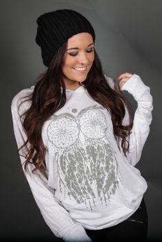Dream Owl Hoodie - LHDC Clothing