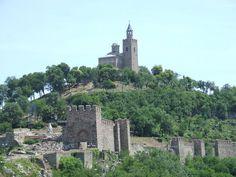Tsarevets Fortress in Veliko Tarnovo, Bulgaria