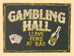 Wild West Riverboat Casino party theme decor idea