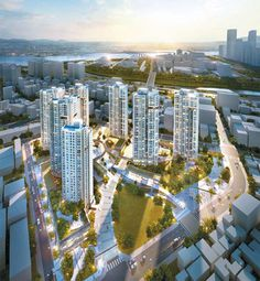 Masterplan Architecture, Green Architecture, Architecture Design, City Layout, Airport Design, Futuristic Home, Forest City, Urban Planning, Skyscrapers