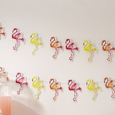 Flamingo Fun Bunting