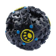 Squeaky Pet Dog Toy Bouncing Ball for Aggressive Chewers by PrettyPet Playing Training Squeaker Tool for Small Medium and Large Dogs Have fun with your pet together >>> Check this awesome product by going to the link at the image.