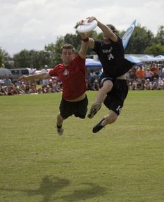 Ultimate Frisbee - another favorite sport