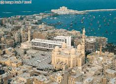 Alexandria, Egypt- this looks so nice, i want to go to Egypt...u know if things get not scary there