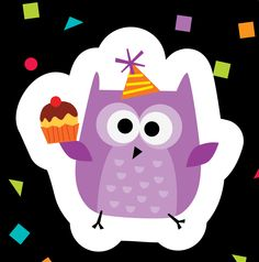 Owl celebrate your birthday! Celebrate student birthdays with the new Owl Birthday stickers. from Creative Teaching Press