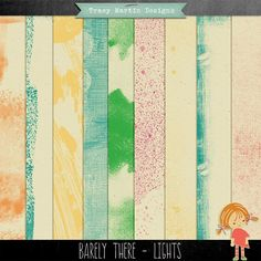 Barely There - Lights paper pack freebie from Tracy Martin Designs