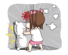 Cute Love Pictures, Cute Cartoon Pictures, Cute Couple Cartoon, Cute Love Gif, Kawaii Drawings, Cute Drawings, Love Doodles, Anime Expressions, Cartoons Love