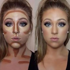 Easy contouring for beginners Image 1 - Makeup Secrets makeup kit, . Easy contouring for beginners Image 1 - Makeup Secrets makeup case, # MAKEUP # Secrets # TutorialfürGesichtsmakeup <-> Easy Contouring, Contouring For Beginners, Makeup Contouring, Contouring And Highlighting, Skin Makeup, How To Contour For Beginners, How To Contour Your Face, Makeup Brushes, How To Blend Contouring