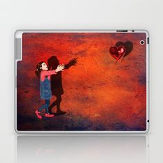 Banksy the love balloons girl Laptop & iPad Skin @pointsalestore #society6 #laptop #skin #case #red #girly #girlie #kids #children #graphic #design #street #art #banksytheballoons #girl #balloons #valentine #hope #meme #love #brokenheart #heart #mothersday #birthday #beauty #beautiful