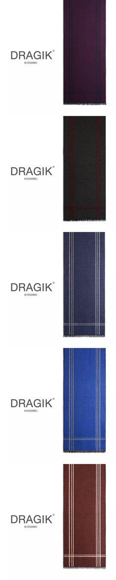 DRAGIK PSCR002 New Arrived Scarf Smooth Softness Material Men Scarf Ladies Scarves Echarpe Cachecol Feminino Inverno