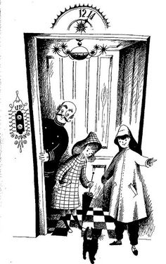 illustration by Adrienne Adams for Joan Howard's long out-of-print children's fantasy The Thirteenth Is Magic.