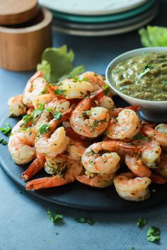 Cilantro Lime Roasted Shrimp packed with fresh cilantro and zesty lime ...