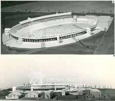 Maqueta Del estadio Tecnológico, Monterrey, Nuevo León, México.