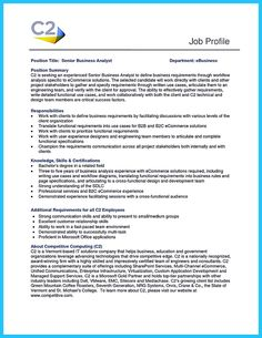 nice Best Secrets about Creating Effective Business Systems Analyst Resume,