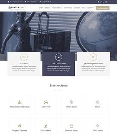 Lawyer Zone is a law firm based WordPress theme, best suitable for Law offices, law firms, professional service and portfolio page of law personalities Lawyer, Wordpress Theme