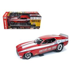 1972 Foster's King Cobra Ford Mustang NHRA Funny Car 1/18 Model Car by Autoworld
