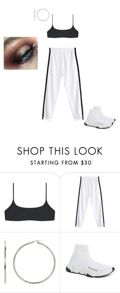 """""""Untitled #1692"""" by elinaxblack ❤ liked on Polyvore featuring Balenciaga"""