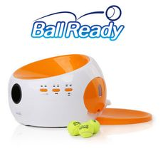Currently trending gadgets: check them out! Meet BallReady: an automatic food dispenser and ball launcher that keeps your dogs busy and fed. When your dog retrieves and brings the ball back, it receives a treat. You can use BallReady inside or outdoors (it has a battery). BallReady keeps your dog busy and feeds it treats