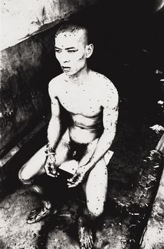 Zhang Huan, 12 Square Meters, 1994 (printed Gelatin silver print, image: x cm; sheet: 168 x cm Cady Noland, Dr Marcus, Christian Marclay, Berlin, New York Museums, Contemporary Photography, Contemporary Art, Modern Art, China Art