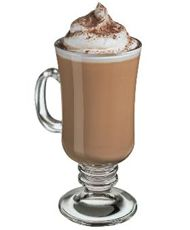GODIVA® HOT PEPPERMINT PATTY  See all Recipes•  .75 oz. Godiva Chocolate Liqueur  •.75 oz. Rumple Minze   •1 cup(s) hot cocoa  •1 oz. whipped cream
