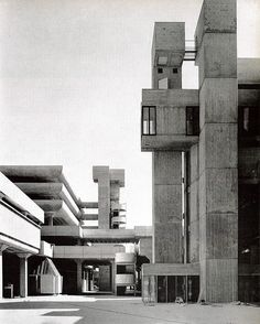 bluecote:  tricorn centre, portsmouth. owen luder partnership. AA 1967. photo. sam lambert