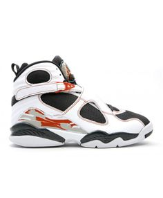 best website 3c353 d101a Air Jordan 8 Retro Ls White Anthracite Dark Orange 317258 104
