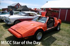 MSCC Oct 17 Star of the Day-cool and gone but not forgotten. Read more: http://mystarcollectorcar.com/mscc-october-12-star-of-the-week-1947-standard-flying-eight-this-is-what-makes-a-swap-meet-a-swap-meet/ #Bricklin
