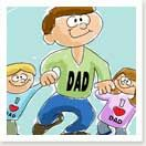 A whole bunch of ideas for Father's Day Crafts for Kids