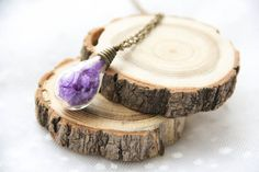 Hey, I found this really awesome Etsy listing at https://www.etsy.com/listing/266899530/terrarium-purple-bottle-necklace