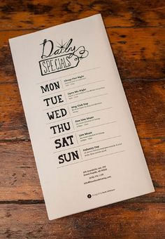 21 Attention-Grabbing Restaurant Menu Designs: