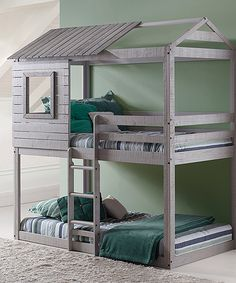 Look what I found on #zulily! Twin Deer Blind Bunk Bed by Donco Kids #zulilyfinds