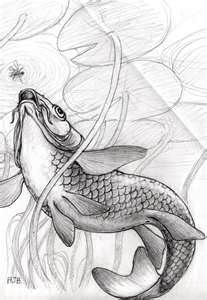 Koi Carp Underwater Design In Tattoo Designs And Artwork By
