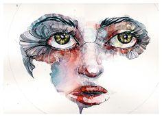 Conheça as belas e delicadas aquarelas da artista alemã Juli Uber Aller.