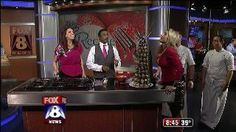 FOX 8 Celebrates Stefani Schaefer's Birthday!   with Lorrie Taylor Wayne Brady, and Kristi