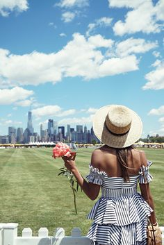 What to Wear to the Veuve Clicquot Polo Classic. – Sincerely Jules