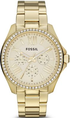 Fossil Watch, Women's Cecile Stainless Steel Bracelet - Women's Watches - Jewelry & Watches - Macy's WANT NOW! Stainless Steel Watch, Stainless Steel Bracelet, Fossil Watches, Women's Watches, Ladies Watches, Gold Watches, Sport Watches, Cecile, Ring Verlobung
