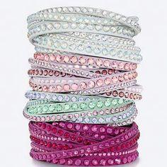 Swarovski slake crystal bracelet from Jons Family Jewellers only $119