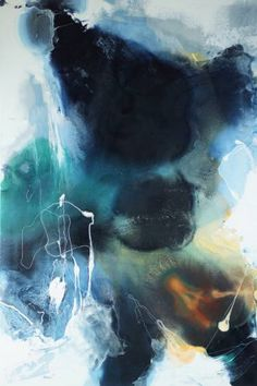 "Saatchi Art Artist Fintan Whelan; Painting, ""Eternal Flow"" #art"