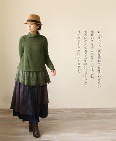 Kinda Mori looking? Where To Buy Clothes, Japan Fashion, Women's Fashion, Mori Girl Fashion, Unique Fashion, Fashion Ideas, Forest Girl, Granny Chic, Material Girls