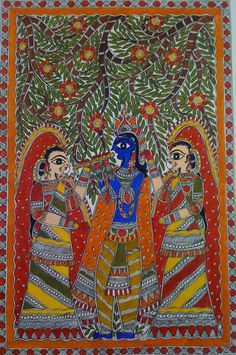 There is, no doubt, a lot of hype surrounding Easy Madhubani Art and Paintings for Beginners. And we know you are aware of that. But if you wish to delve Worli Painting, Online Painting, Madhubani Art, Madhubani Painting, Art And Illustration, Illustrations, Lord Ganesha Paintings, Krishna Painting, Indian Art Paintings