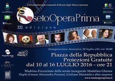 Roseto Opera Prima XXI°: al via con Madalina Ghenea e Alessandro Preziosi