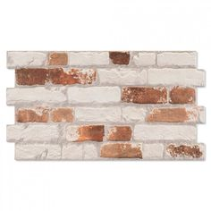 These Rustic Masonry Archaic Brick Effect Tiles are perfect for creating the illusion of a characterful brick wall in a room where there otherwise wouldn't be. Manhattan, Brick Effect Tiles, Brick Wall, Rustic, Ceramics, Home Decor, Inspiration, Velvet, Country Primitive