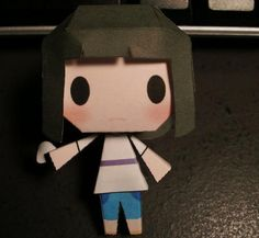 Spirited Away - Chibi Haku Free Paper Toy Download - http://www.papercraftsquare.com/spirited-away-chibi-haku-free-paper-toy-download.html#Chibi, #Haku, #NigihayamiKohakunushi, #SpiritedAway