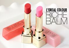 I'm obsessed with this stuff. l'oreal color riche balm in coral and pink satin Cute Lipstick, Makeup And Beauty Blog, Beauty Products, Makeup Products, Beauty Tips, Holiday Makeup, Dry Lips, L'oréal Paris, Glam Makeup