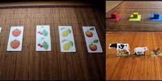 3 activités Montessori de mises en paires