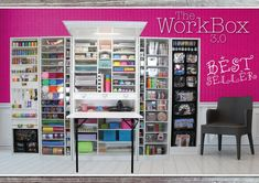 The Original Scrapbox UK. The sensational concept furniture! The ultimate solution for hobby and homework. Europe wide shipping. Simplify, organize, create.