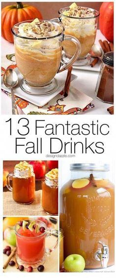 Crisp Apples, Ripe Cranberries And Plenty Of Pumpkin Spice Go Into Making These 13 Fantastic Fall Drinks To Give You Something To Look Forward To This Fall Inspired Drink Recipes Drink Recipes For Fall Beverages Pumpkin Flavored Drink R Pumpkin Recipes, Fall Recipes, Holiday Recipes, Pumpkin Drinks, Delicious Recipes, Healthy Recipes, Holiday Drinks, Party Drinks, Christmas Drinks