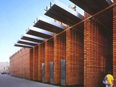 Exemplary project - Swiss Pavilion 'Sound Box' designed by Peter Zumthor - folio